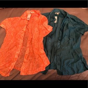 Two Beautiful Blouses from BANANA REPUBLIC